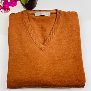 Ermenegildo Zegna Wool V-Neck Sweater size Small